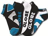 Globe Herren Socken Destroyer Socks Ankle 5 Pack, Black, 7-11, GB70919041