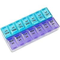 MEDca Wöchentliche Pillendose, Zwei Mal pro Tag, 1 Pillendose preisvergleich bei billige-tabletten.eu