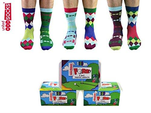 Die verrückten Fore Golf Socken für Männer im 6er Set - 2