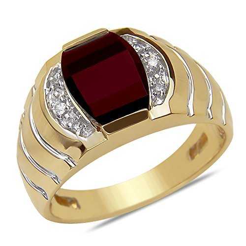 07cttw-mens-ring-with-garnet-in-10k-yellow-gold-by-nissoni-jewelry