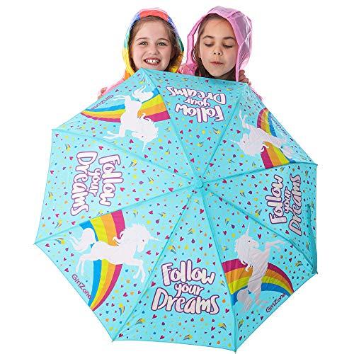 Paraguas Niña - Paraguas Infantil Que Cambia Color! Paraguas Plegables, Sombrillas Para El Sol! Detalles Cumpleaños Infantiles Para Niñas, Regalo Niña