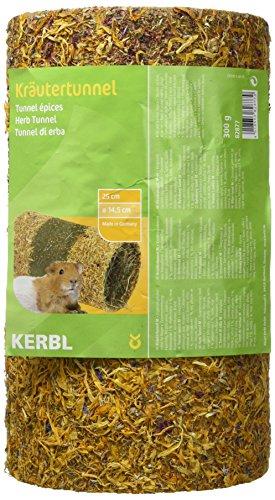 Kerbl Native Snacks Kräutertunnel M gefüllt, 25 x 14.5 cm, 1er Pack (1 x 0.3 kg)