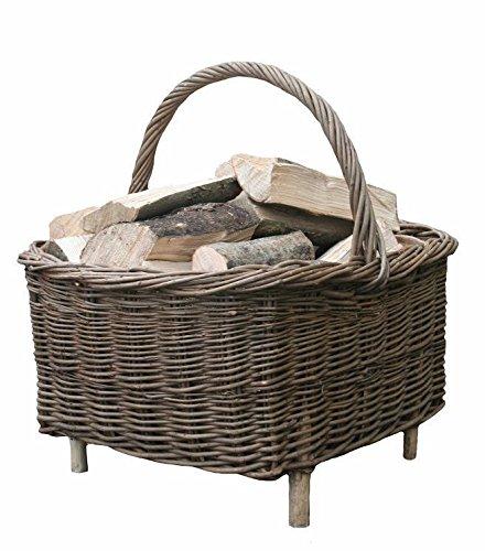 Fireside Rectangular Log Basket
