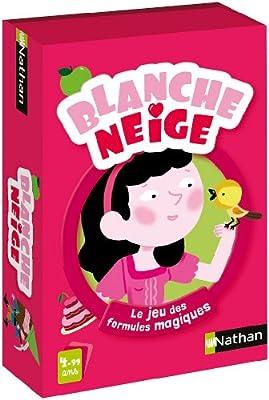 Nathan - 31493 - Jeu de Société - Blanche Neige Veut un Bisou