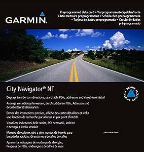 Garmin Carte microSD City Navigator 2015 DACH et République Tchèque NT pour GPS Séries nüvi et zümo
