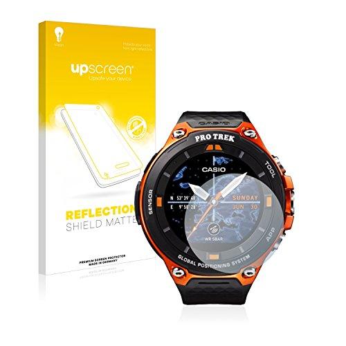 upscreen Matt Schutzfolie für Casio WSD-F20 - Entspiegelt, Anti-Reflex, Anti-Fingerprint