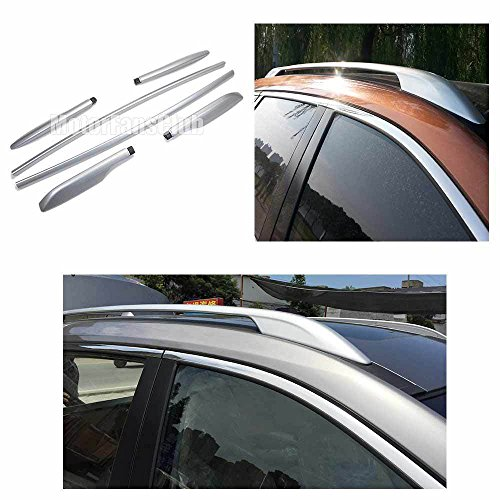 UKB4C Roof Rack Cross Bars For Nissan X-Trail 2001-2006 with solid rails