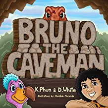 Bruno The Caveman: A Fun Story About Selflessness With Dinosaurs (English Edition)
