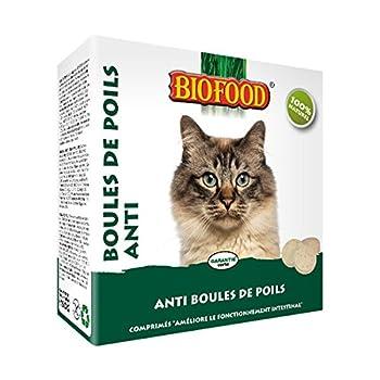 BIOFOOD FRIANDISES ANTI BOULES DE POILS 100 PIECES CHATS