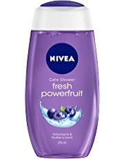 NIVEA Shower Gel, Powerfruit Fresh, 250ml