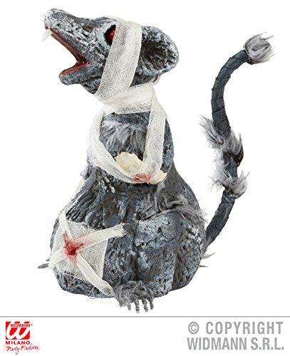ATTE - 24 cm, Halloween Deko Horror Skelett Figuren Leichenteile Körperteile Ratten (Halloween Leichenteile)