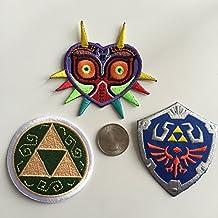 Triple de la leyenda de zelda The Legend Of Zelda bordado parche Pack – completo Trifuerza