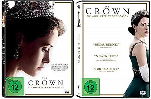 The Crown Staffel 1+2 [DVD Set]