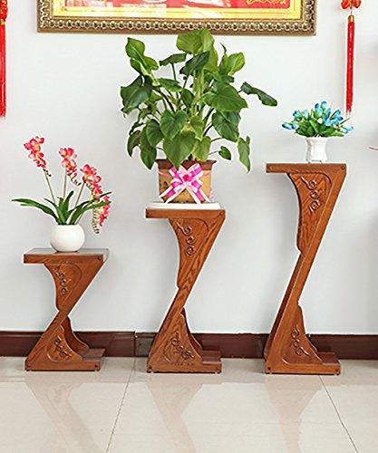 Scaffale fioriera solido impianto di legno basamento di 2 for Piani di casa artigiano del sud vivente
