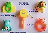 #1: TOY-STATION Baby Teether & Rattles pack [5Pcs] NEW