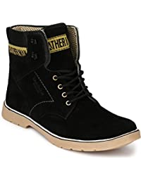 Menfolks Black Wildlife/Camping Boots