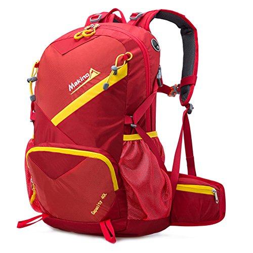 borse alpinismo esterno/Gli uomini e le donne Backpack/zaino da viaggio-Grande rosso 40L Grande rosso