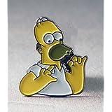 Spilla in Metallo smaltato Homer Simpson (Simpsons TV Cartoon)
