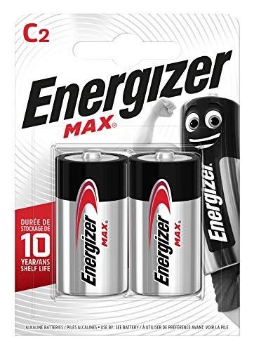 Energizer Batterien C, Max, 2 Stück -