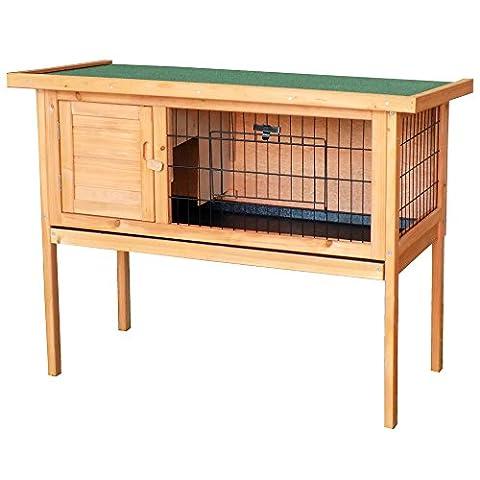 Cage Rongeur Bois - Cage en bois pour rongeurs, hamsters ou