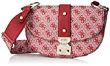 Guess - Florence, Bolsos bandolera Mujer, Rojo (Red/Red), 20.5x13x8.5 cm (W x H L)
