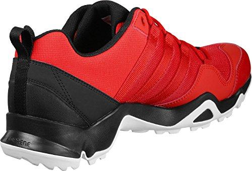 adidas Terrex Ax2r, Chaussures de Randonnée Basses Homme, Noir Rot (Hirere/Cwhite)
