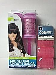 CONAIR GRIP HAIR ROLLER 4 COUNT
