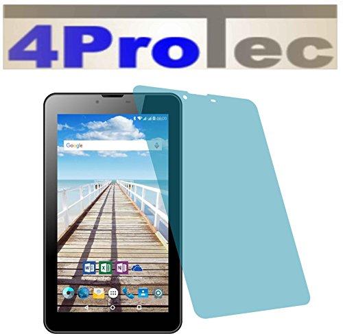 4ProTec 2 Stück GEHÄRTETE ANTIREFLEX Displayschutzfolie für Odys Sense 7 Plus 3G Bildschirmschutzfolie