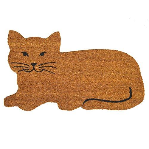 Felpudos Gatos fibra coco gato 40x70 cm