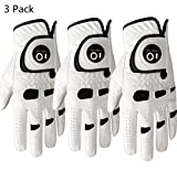 Lily Sport Golf Gloves Men Left Right Hand with Ball Marker Value 1