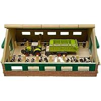 Kids Globe - 610492 - Maquette - Ferme en bois - Echelle 1:87 - 21 x 30 x 11 cm