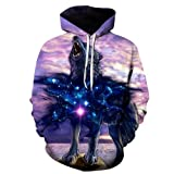 Bushiwo Sweatshirt Drucken Kapuzenjacke Männer 3D-Sweatshirt XL Pullover Roman Men's Hooded Top, M, 1.