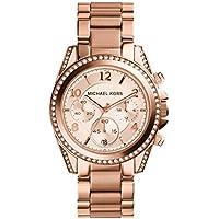 Michael Kors MK5263 Chronograph Womens Watch (Rose Gold)