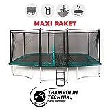 Maxi Paket Trampolin Atmosphär 500 mit Netz + Leiter + Ankerset + Abdeckplane