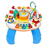 #5: Smartcraft Learning Activity Table,Multifunctional Activity Table with Train, Music and Piano for Kids (Multicolour)