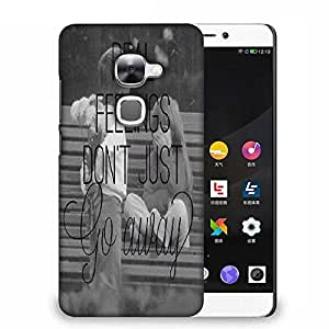 Snoogg Real Feelings Designer Protective Back Case Cover For Samsung Galaxy J1