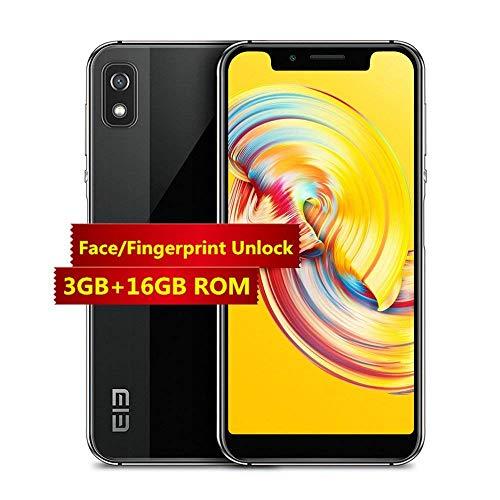 Elephone A4 - 4G Smartphone La Pantalla de Muesca de 5,85 '' Android 8.1 Sensor de huella dactilar lateral MTK6739 y...