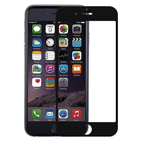 iPhone 6 iPhone 6s Panzerglas Folie Vollbild Abdeckung Displayschutzfolie 3D Touch 9H Hartglas Folie (4.7, schwarz)