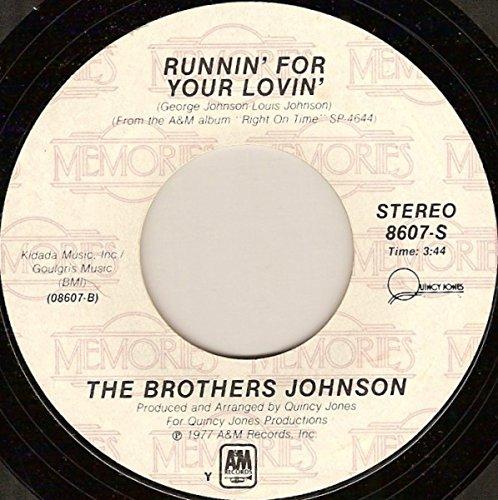 Strawberry Letter 23 / Runnin' For Your Lovin' [Vinyl Single 7''] Johnson Brothers Strawberry