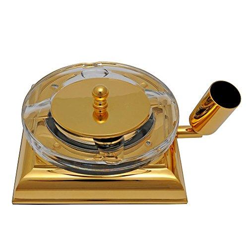 El Casco Aschenbecher - vergoldet