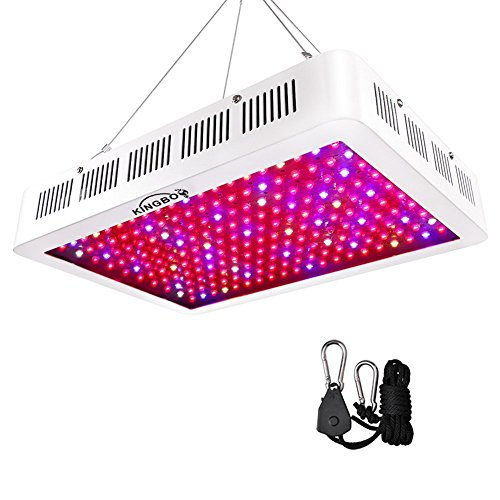 KINGBO 1500W Doppel Chips LED Grow Light Vollem Spektrum LED Pflanzenlampe mit Rope Hanger für...