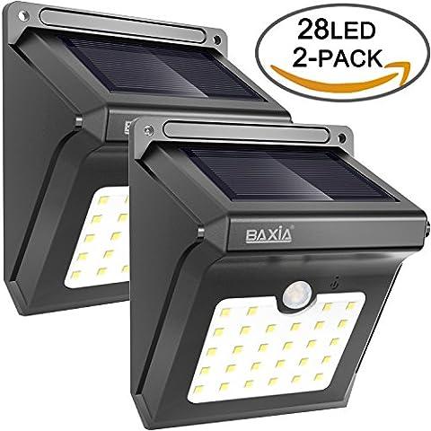 BAXiA 28 LED, Ampoule de sécurité avec Détecteur de Mouvement