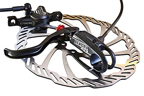 HELIX 7B Scheibenbremse Mtb - Bengal Hydraulik Bremse schwarz. (Cannondale Fahrrad-rahmen)