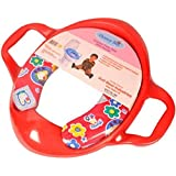 Honey Bee Cushioned Potty Seat with Handle (Multicolour)