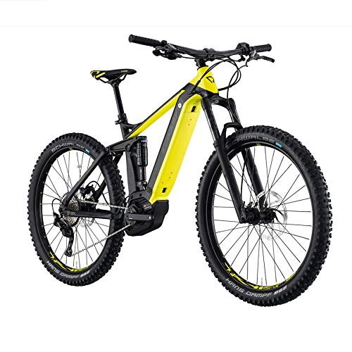 """Conway eMF327+ 27,5\"""" E-Bike Fully, MTB Schwarz-Gelb (52cm)"""