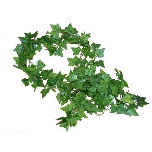 192 Feet - 24 English Ivy Silk Greenery Wedding Party Garlands by Rurality