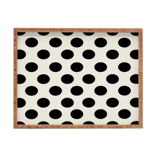 DENY Designs Allyson Johnson eleganteste-Creme Tablett rechteckig, 17x 22,5