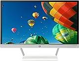HP Pavilion 22xw IPS-LED (J7Y67AA) 54,6 cm (21,5 Zoll) Monitor (VGA, HDMI, Full HD, 7ms Reaktionszeit) weiß