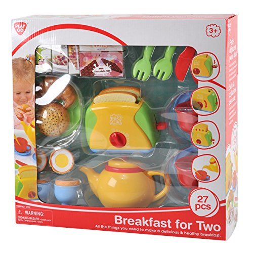 PlayGo 3715 - Spiel-Set Frühstück für Zwei 27 Teile