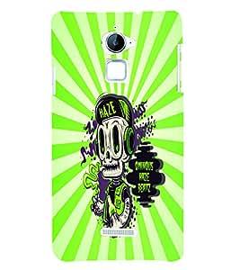 PrintVisa Cool Boy 3D Hard Polycarbonate Designer Back Case Cover for Coolpad Note 3 Lite